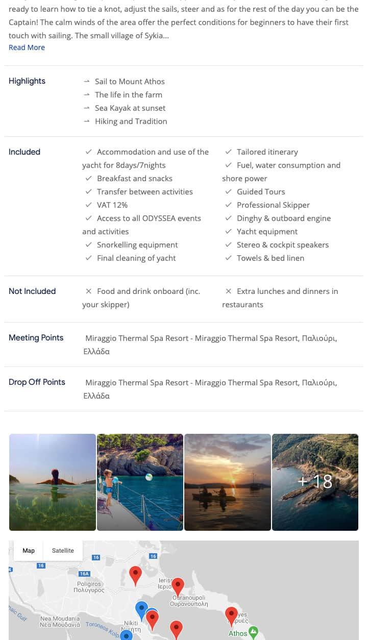 Tradition History and Nature in Halkidiki Mount Athos Sithonia 8days 7nights cruise kleesto 1
