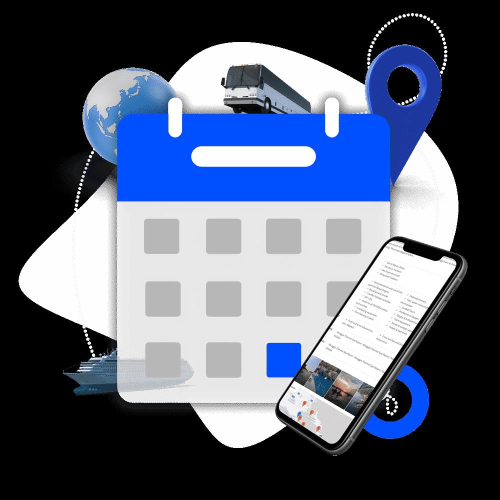 kleesto - tour operator software - tour operator booking management calendar icon